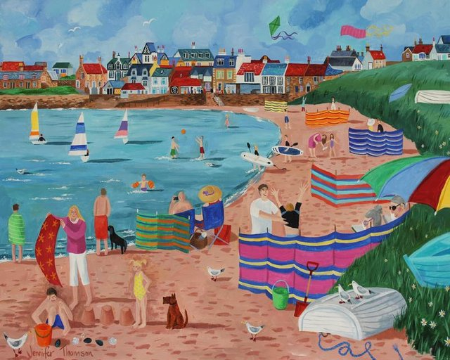 Jennifer Thomson will be showing off her work in Elie.