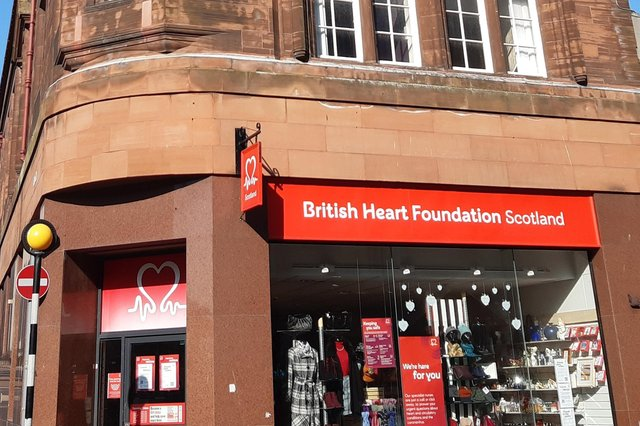British Heart Foundation shop, Kirkcaldy