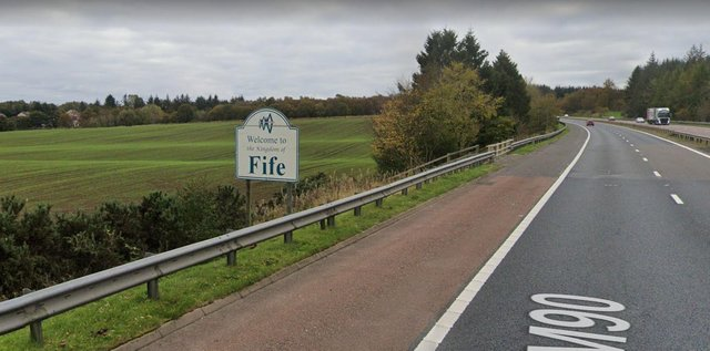 There are a number of areas in Fife which have had no new cases.
