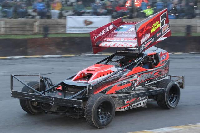Gordon Moodie racing in the Formula I