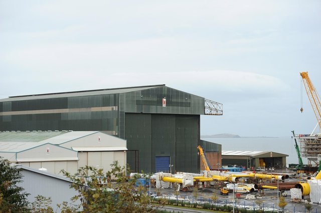 The Methil yard is set for a jobs boost (Pic: Fife Photo Agency)