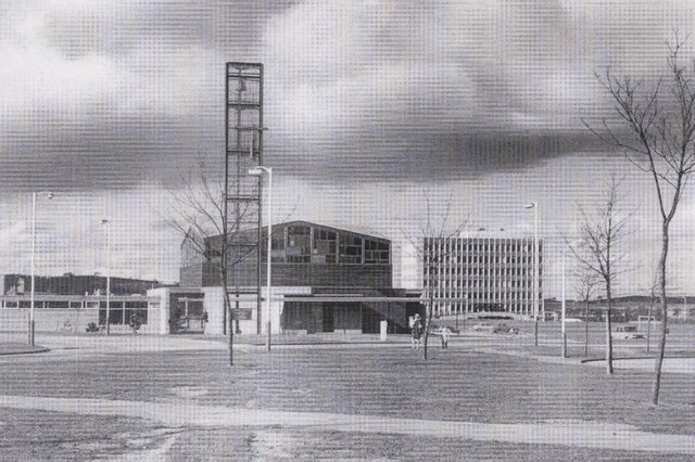 St Columba's when it was first built.