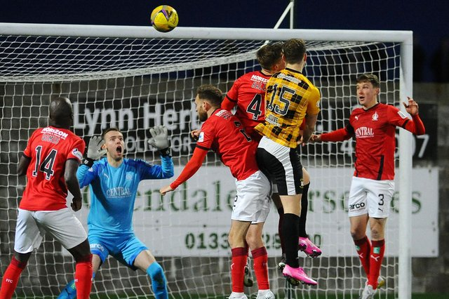 East Fife will travel to Clyde on March 20 as League one resumes. Pic by Michael Gillen
