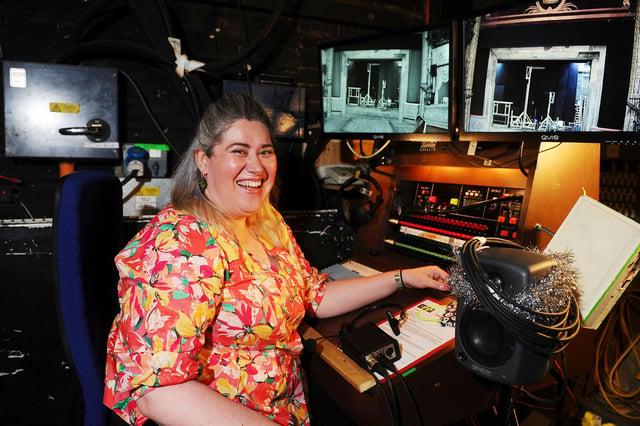 Claire Williamson, Deputy Stage Manager, Royal Lyceum, Edinburgh.
