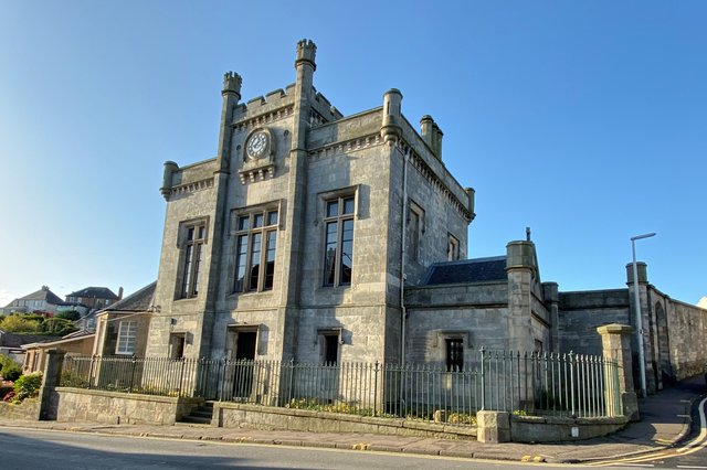 Kinghorn Town Hall has been awarded a generous grant from the Historic Environment Recovery Fund, which aims to support the recovery of Scotland's historic environment sector from the impacts of COVID-19. Pic: Fife Historic Buildings Trust.