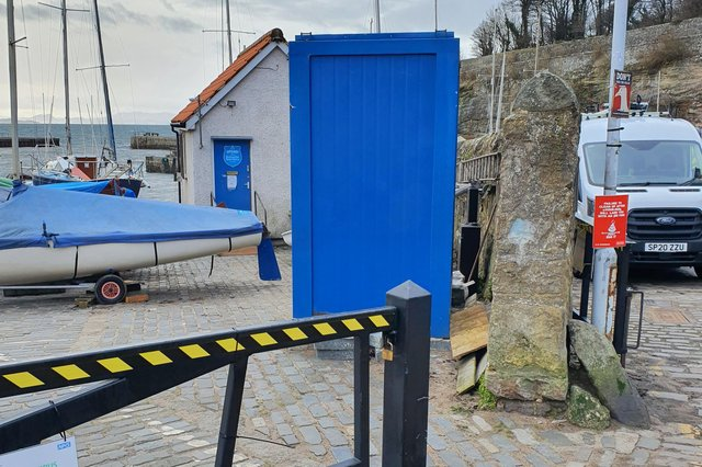 Dysart Sailing Club wants to put the loos on to its ground