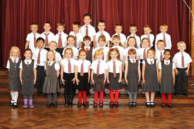Kirckcaldy and Glenrothes 2013 P1 classes.