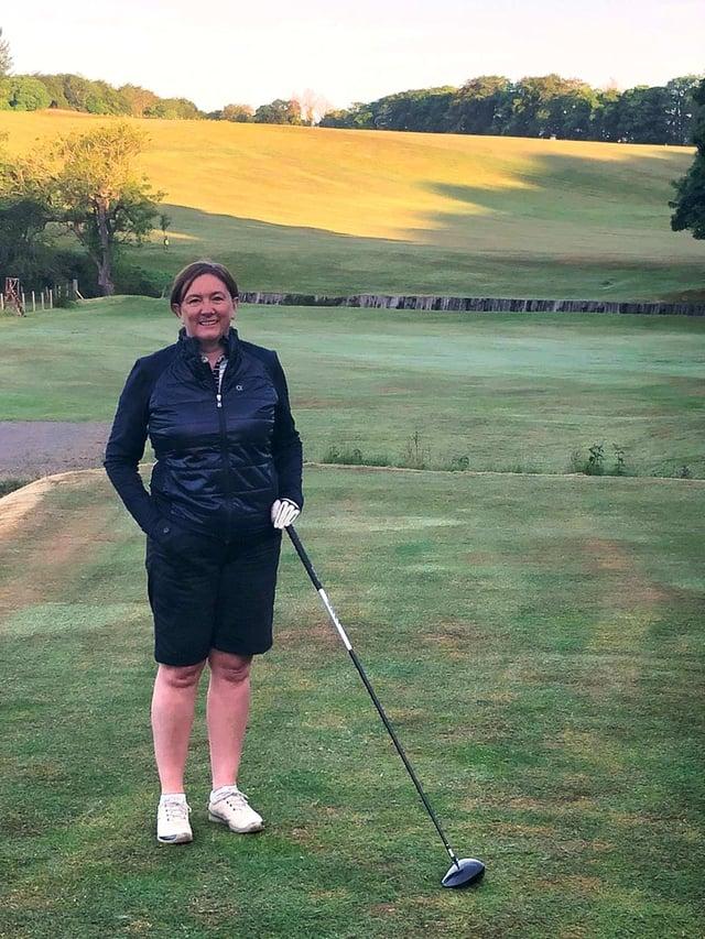 Scottish Golf CEO Karin Sharp