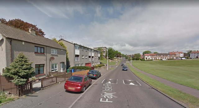 A child was hit by a car in Fair Isle Road, Kirkcaldy on Wednesday, 12 May.