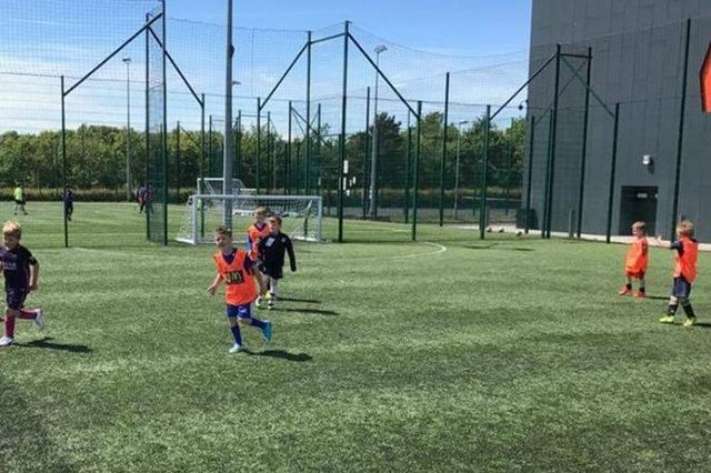 Indoor and outdoor facilities at the Michael Woods Sports and Leisure Centre have opened