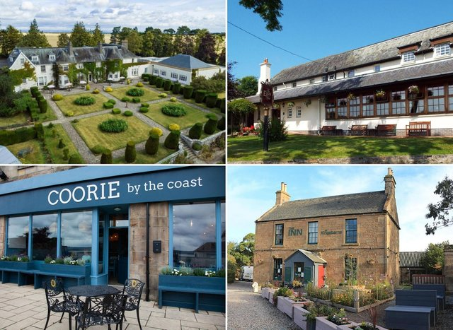 These are the 13 Fife hotels highest rated on internet travel site www.booking.com.