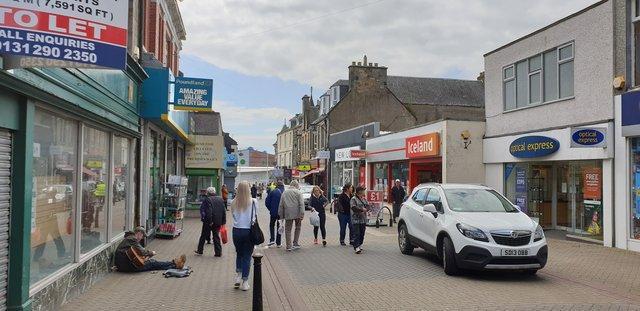 Leven town centre