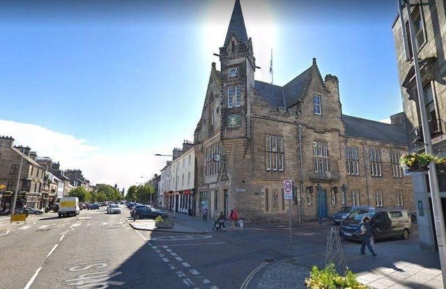 St Andrews Town Hall. Pic: Google.