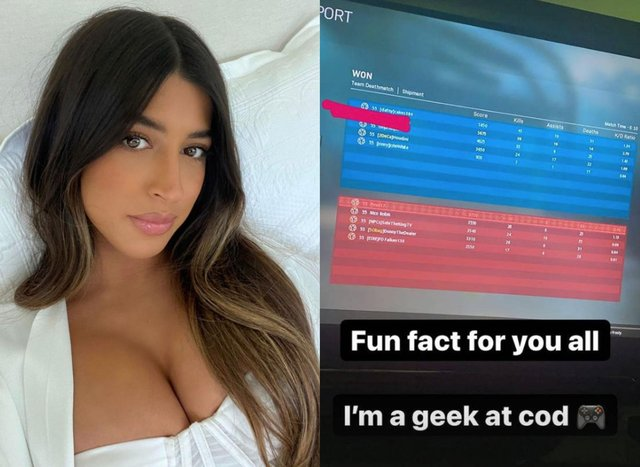 Shannon Singh is the only Scot on this year's Love Island so far - and she loves to game on Twitch (Insta @shannonsinghhh)