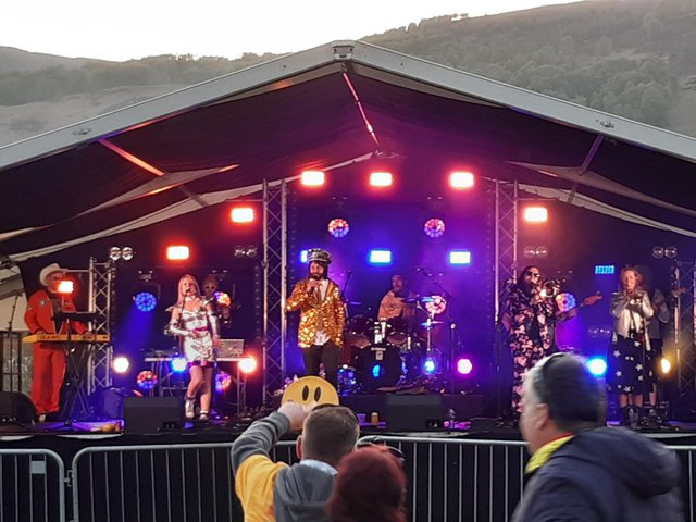 Colonel Mustard and The Dijon 5 headline the opening night at Capers In Cannich - the first music festival staged in Scotland since lockdown in March 2020