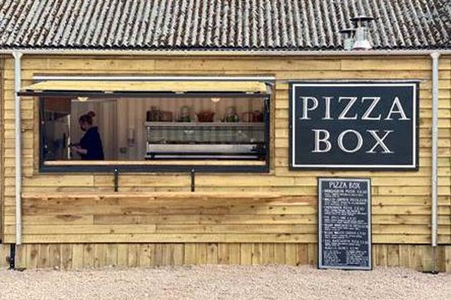 The new pizza takeaway.