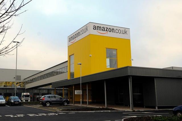 Amazon's fulfilment centre in Dunfermline