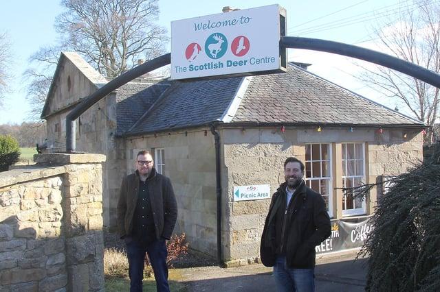 New owners David Hamilton and Gavin Findlay.