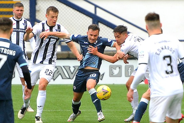 Raith and Dunfermline met in the Premiership play-off in May (Pic: Fife Photo Agency)