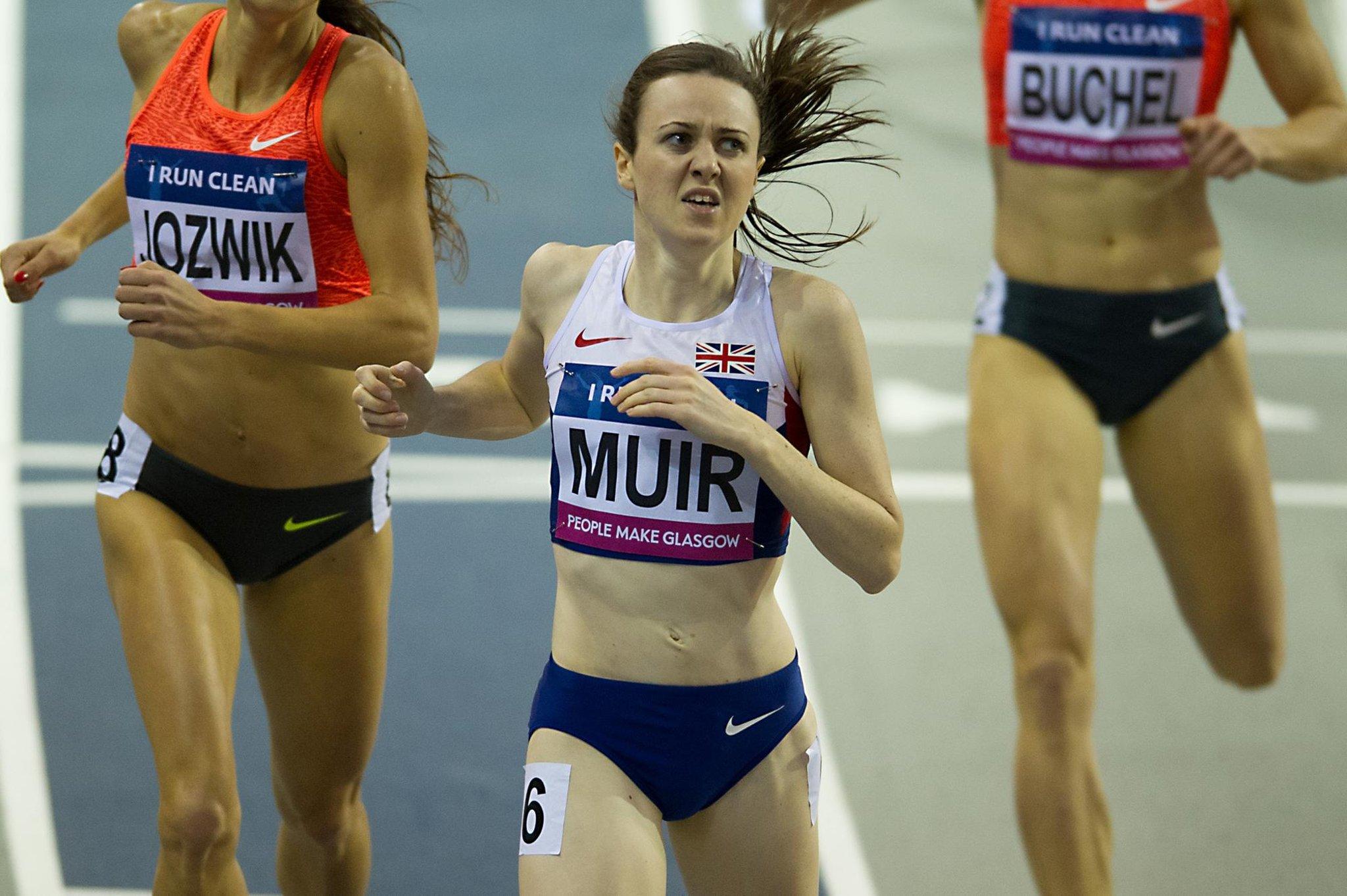 Laura Muir honoured to be part of Team Scotland