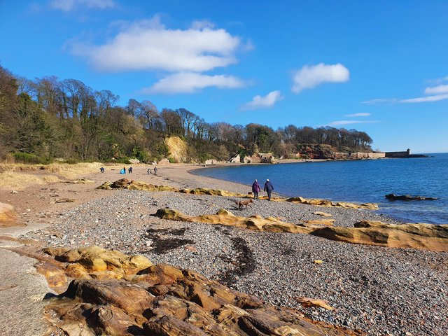Concerns have been raised by locals about red coloured discharge seen in streams along Fife Coastal Path and the number of dead birds found washed up at Pathhead Sands, Kirkcaldy.