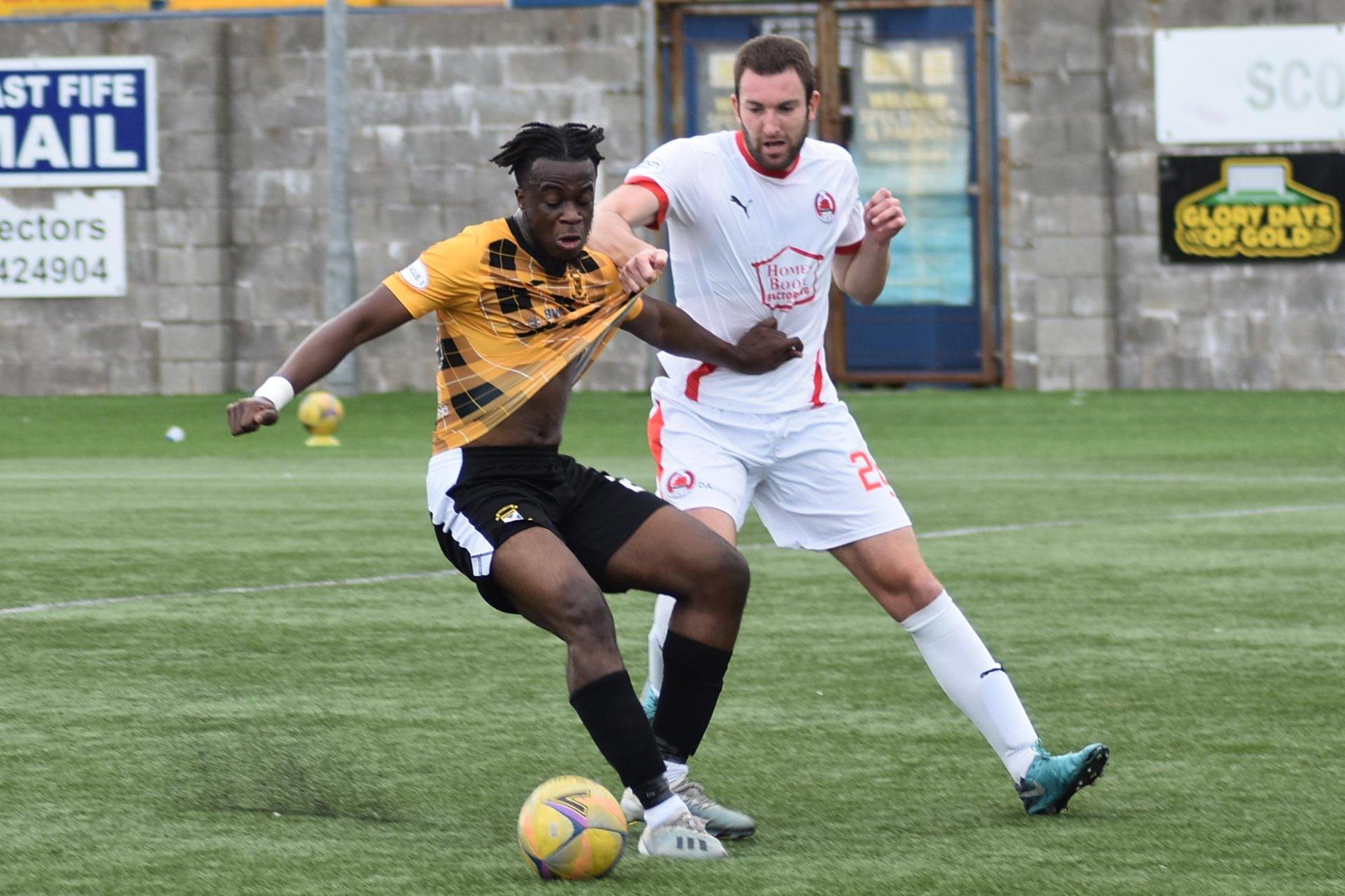 East Fife 0-2 Clyde