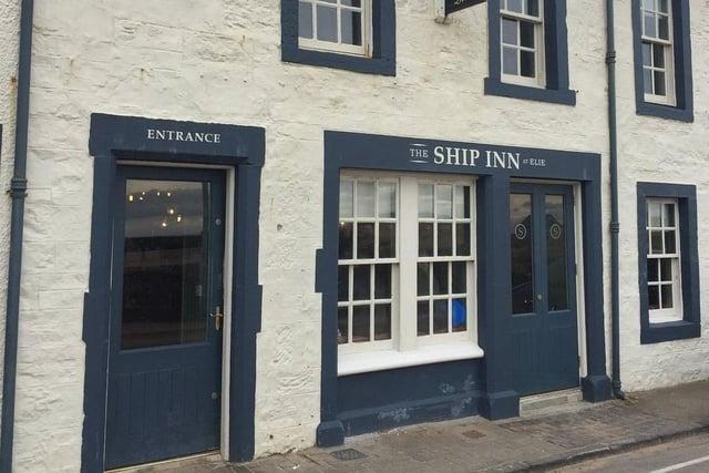 The Ship Inn in Elie.