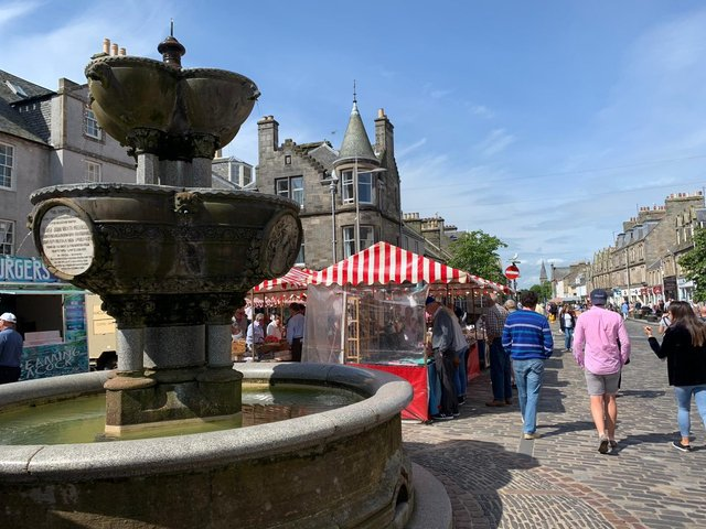 The market will be held in St Andrews.