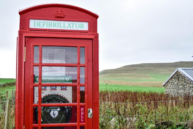 21 Fife phone boxes are up for adoption (Pic:  Isobel Thompson, operations manager of the Westray Development Trust)