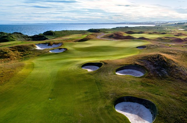 Dumbarnie Links on north east Fife will host the tour's finals