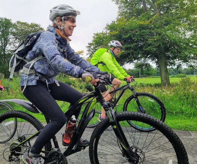 The couch to five mile bike rides will run every Monday evening in Beveridge Park, Kirkcaldy from May 10.