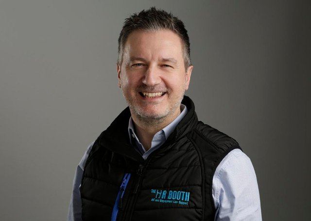 Alistair Booth, who runs The HR Booth business in Dunfermline
