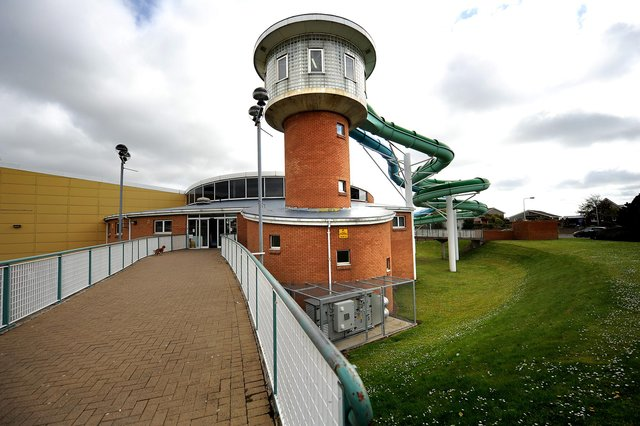 Fife Council has pledged £1 investment in the Beacon Leisure Centre, Burntisland so it can be upgraded and re-open when Covid restrictions are lifted. Pic: Fife Photo Agency.