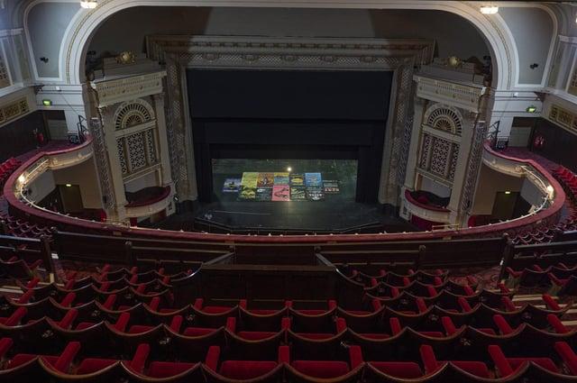 Inside the Edinburgh Playhouse