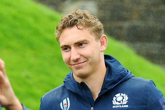 Jamie Ritchie will captain Scotland for their summer fixtures. Pic by Michael Gillen