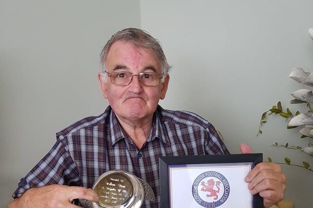 Glenrothes legend Willie Drew