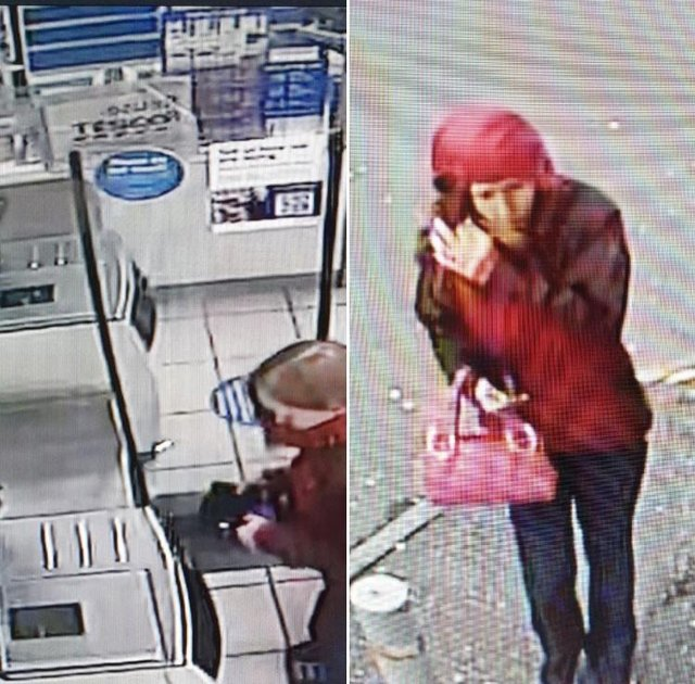 CCTV capturing the last sighting of Kathleen Ritchie