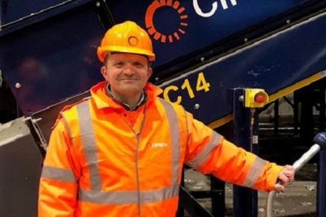 Robin Baird, chief operating officer of Cireco, the new name for Fife's arms-length commercial waste company