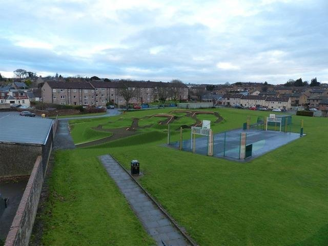 Location for proposed Kennoway Pump Track