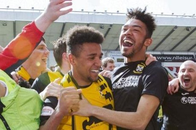 Nathan Austin, part of the League Two winning side, has returned to East Fife on loan.