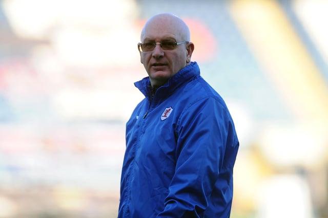Rovers manager, John McGlynn (Pic: Michael Gillen)