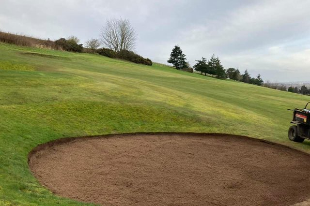 Cupar Golf Course has undergone a series of improvements and is looking in terrific shape ahead of the new season teeing off. Pic courtesy of Cupar GC