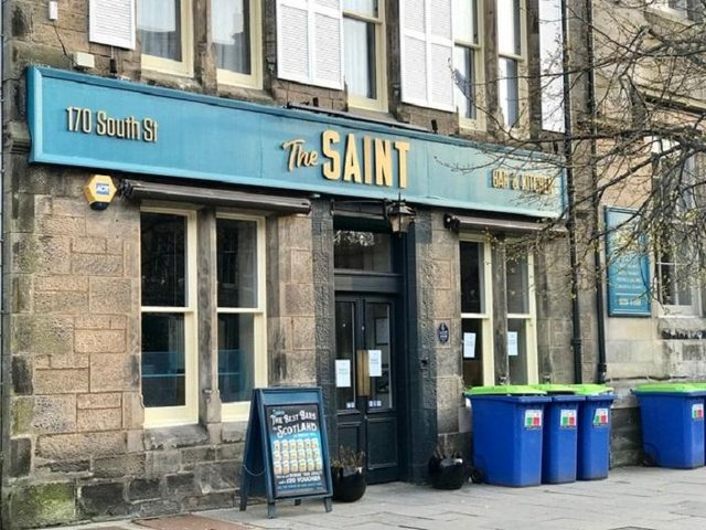 The Saint pub in St Andrews