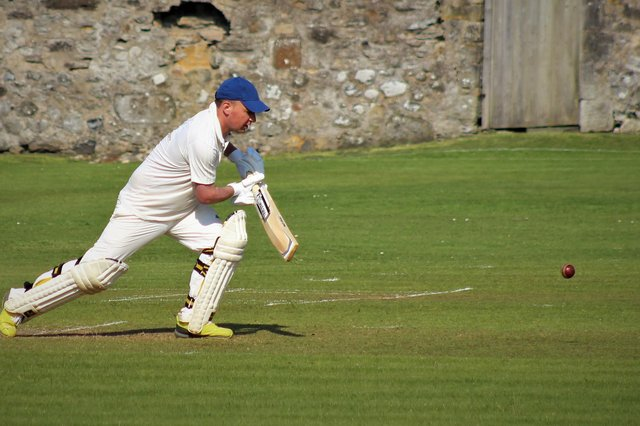 Largo's second team player Fletcher Smith was amongst those back in action at the weekend