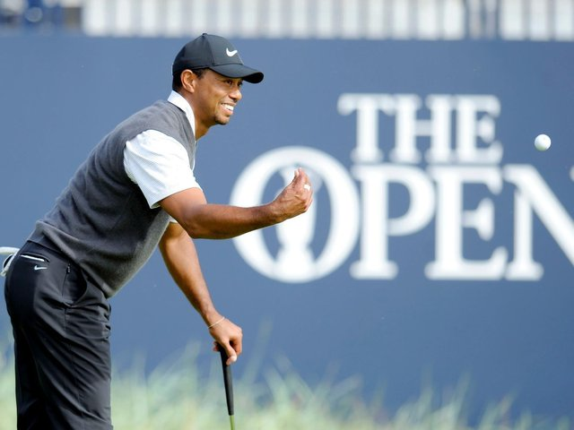 Tiger Woods would be one of the champions honoured on the  walk of fame. (Pic: Michael Gillen)