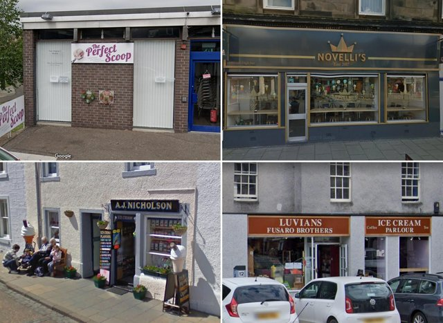 Some of the best places in Fife to get an ice cream.
