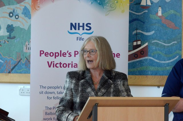 Rt Hon Tricia Marwick is the chair of the Fife Health Charity's Board of Trustees in addition to chairing Fife Health Board. Pic: George McLuskie.