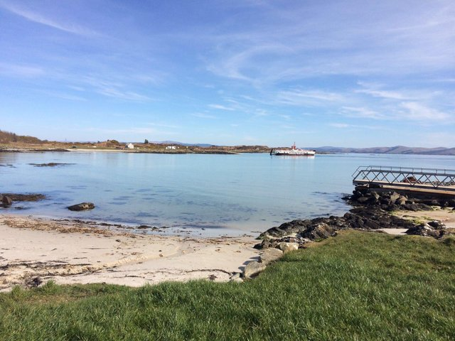 View from The Boathouse, Gigha