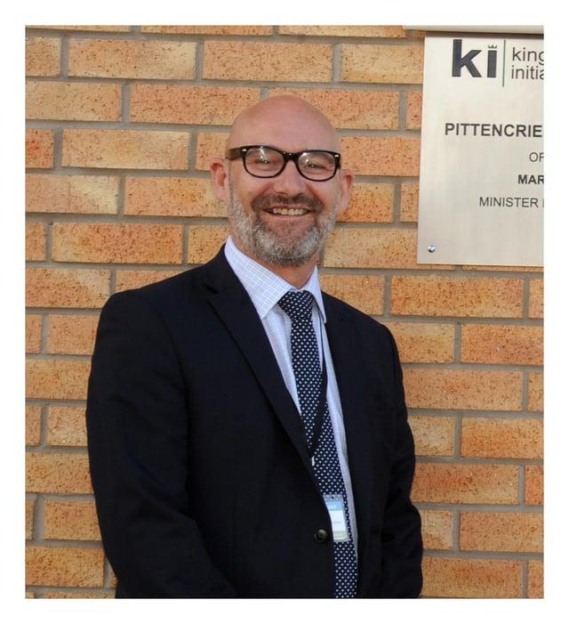 Bill Banks, chief executive, Kingdom Housing Association. Pic: George McLuskie.
