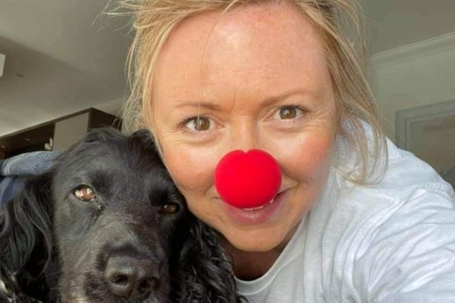 Susan Simpson, owner of Mind and Body Studio in Kirkcaldy, was a member of Team Stomping for Hearts and Minds, taking part in the virtual Kiltwalk.